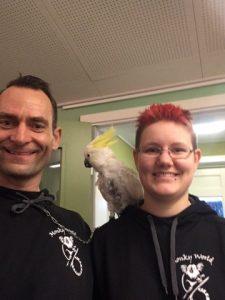 Kakadue i Børnehuset Rørskov
