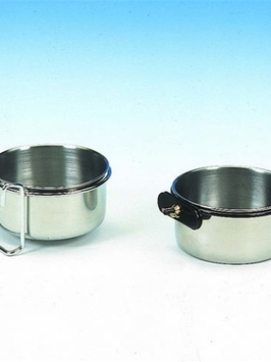 Rustfri skål til kæledyr