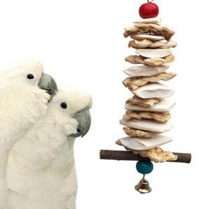 Papegøje legetøj med calsium xl