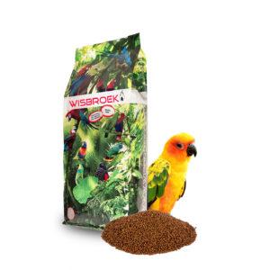 Papegøje foder