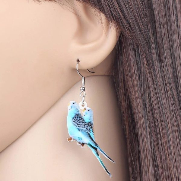 Undulat øreringe