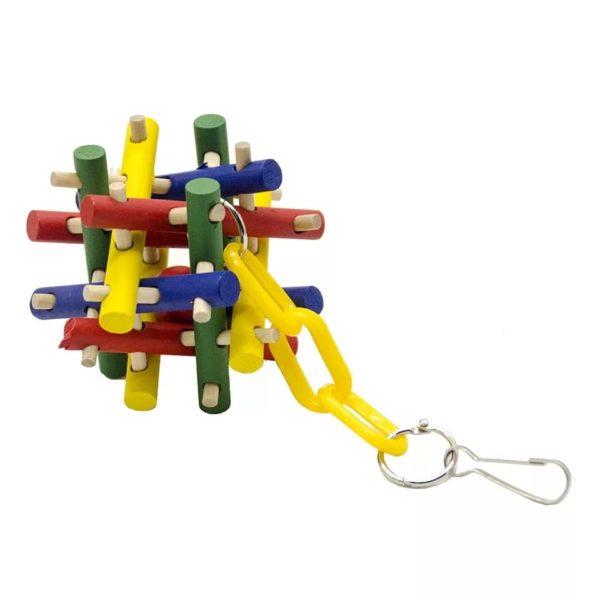 Træ legetøj til fugle