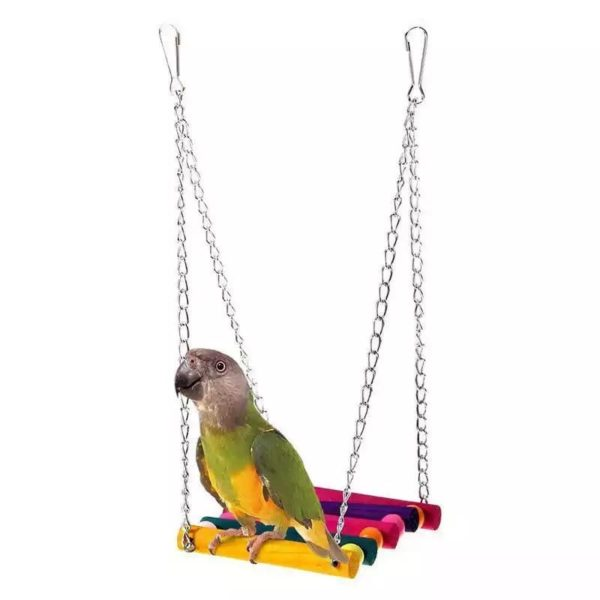 Hængebro til mindre papegøjer