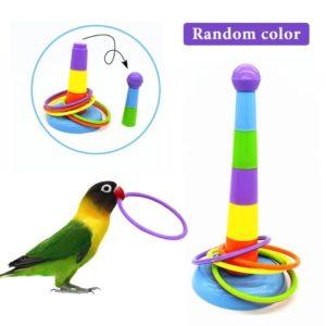 Ringspil til papegøjer