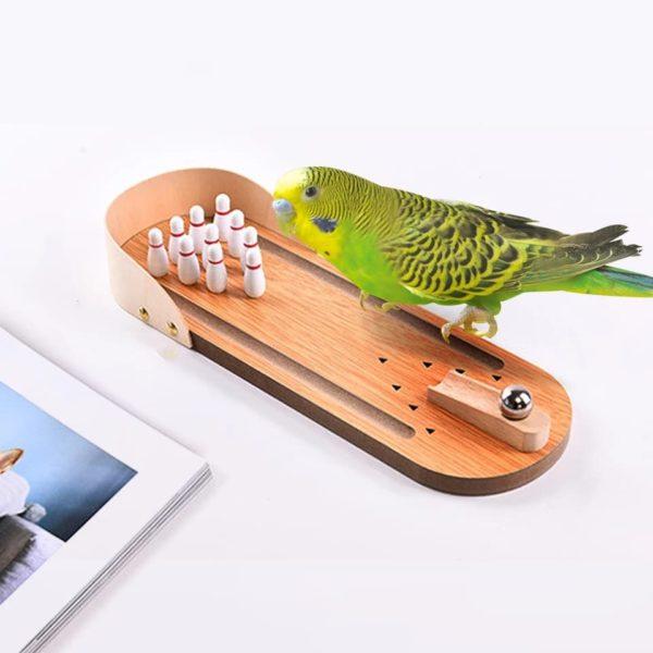 Papegøje bowling