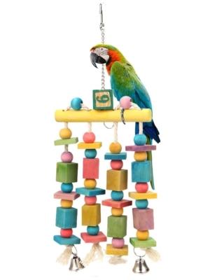 Papegøje trælegetøj