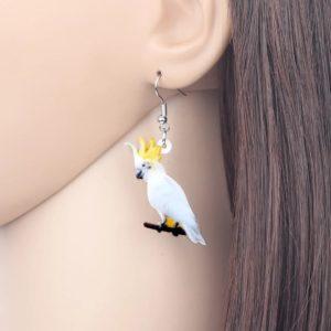Kakadue øreringe