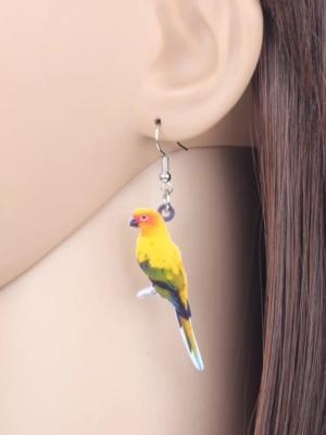 Solparakit øreringe