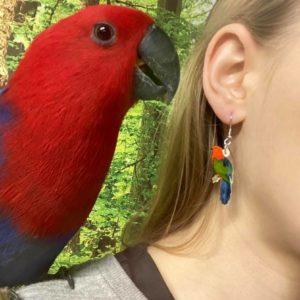 Øreringe med dyr