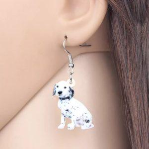 Dalmatiner øreringe