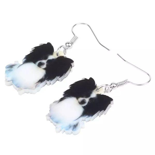 Øreringe med Papillon