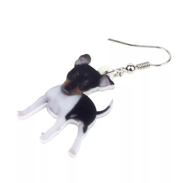 Foxterrier øreringe