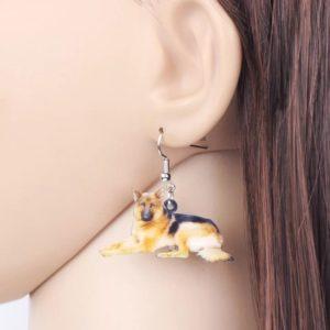 Øreringe med Schæfer