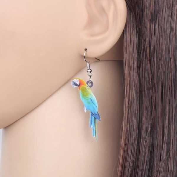 Harlequin ara øreringe