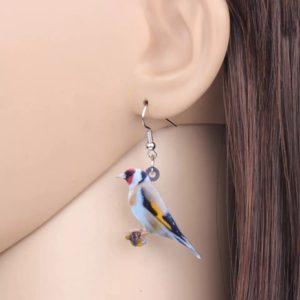 Guldfinke ørering