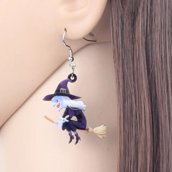 Halloween øreringe