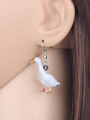 Øreringe med gæs