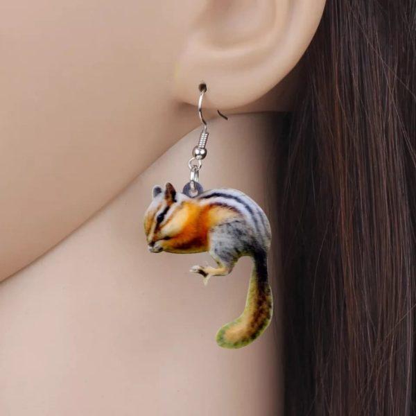 Øreringe med jordegern