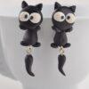 Misse katte øreringe