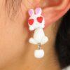 Kanin øreringe