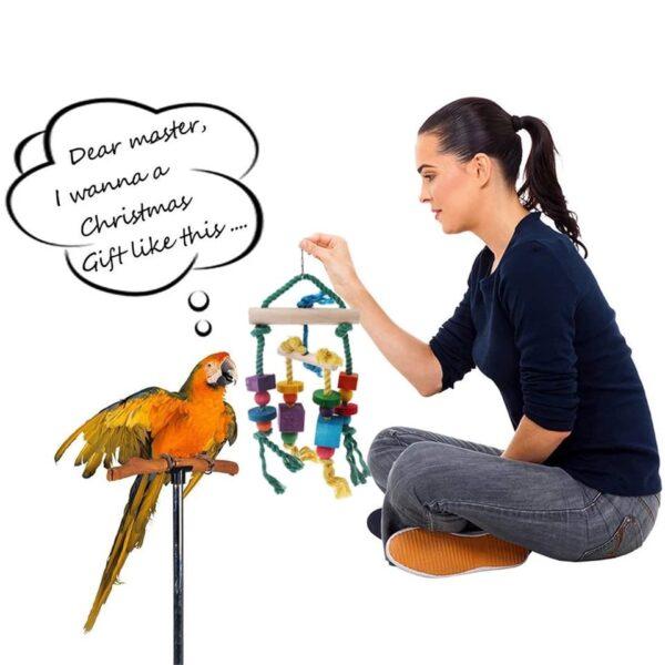 Fugle trælegetøj