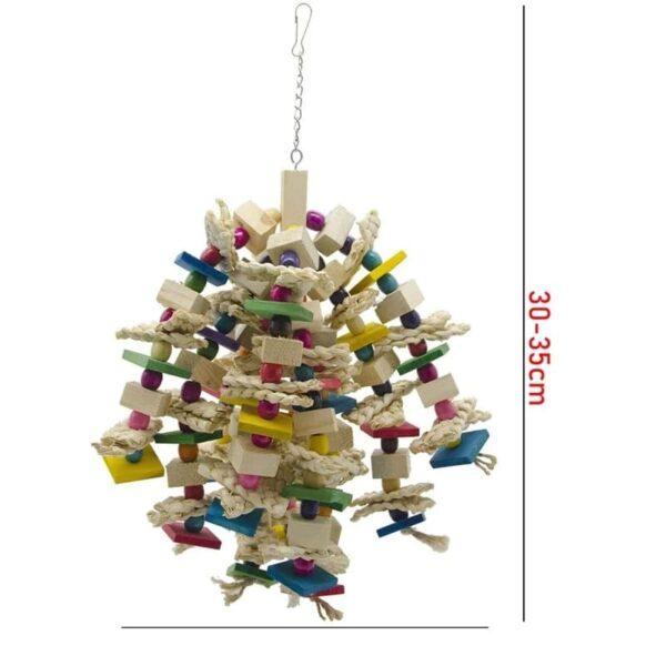 Papegøje favorit trælegetøj