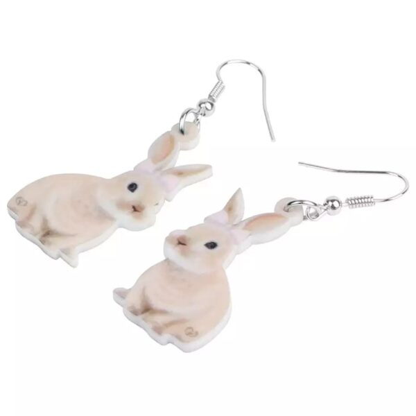 Øreringe med kaniner