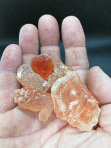 Gummi arabicum klumper